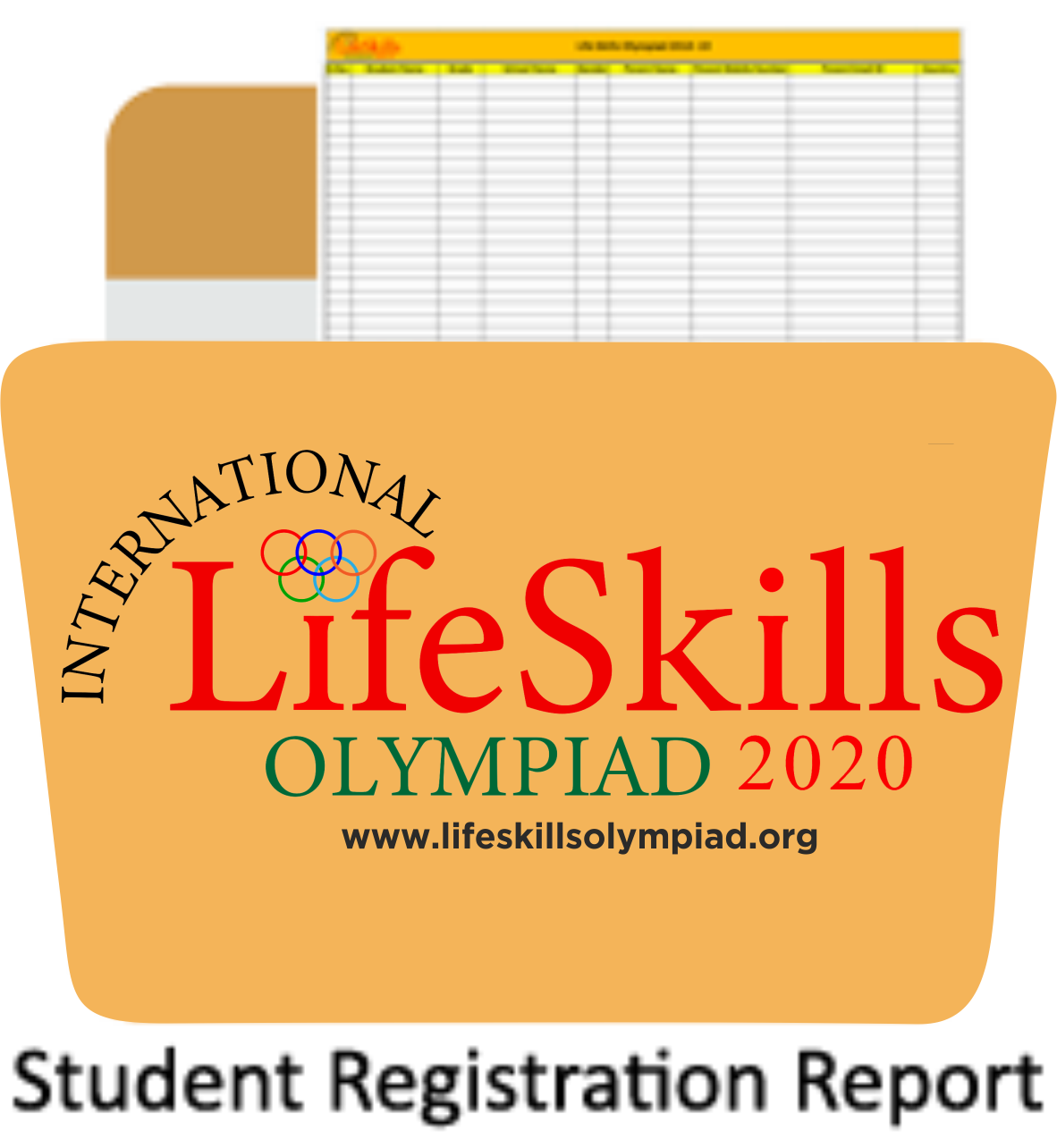 Student registration report